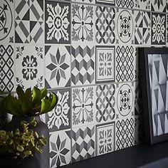 Konkrete Grey Matt Ceramic Wall tile Pack of 14 . This wall tile is ideal for bathroom shower walls & kitchen. Wall tile by Colours Ceramic Wall Tiles, Glass Mosaic Tiles, Mosaic Tile Sheets, Kitchen Tiles, Kitchen Design, Tile Floor, Shower Walls, Crafts, Home Decor