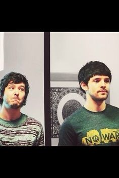 Alexander Vlahos & Colin Morgan - too much adorable in a single pin. Ugh. It makes me sick