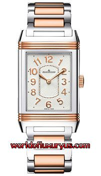 Q3204120 - This Jaeger LeCoultre Grande Reverso Womens Watch, Q3204120 features 40mm Stainless Steel and 18kt Rose Gold case, Silver dial, Gold-toned hands, Sapphire crystal, Fixed bezel and a Stainless Steel and 18kt Rose Gold Bracelet. - See more at: http://www.worldofluxuryus.com/watches/Jaeger-LeCoultre/Reverso-Grande/Q3204120/219_257_8399.php#sthash.doNiLm2Q.dpuf