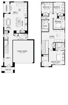 Banksia, New Home Floor Plans, Interactive House Plans   Metricon Homes    NSW