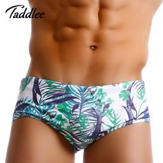 86e748701654f Taddlee Brand Men s Sexy Swimwear Swimsuits Swim Bikini Brief Suits Gay New  Surf Board Trunks Shorts Boxers Brazilian Classi Cut-in Men s Briefs from  Sports ...