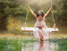 A Photographer Was Shamed for Using Photoshop, but She Showed the Originals and Fought Back Lilia Alvarado became interested in photography after she had twin New Wallpaper Hd, Cute Wallpapers, International Day Of Happiness, Wooden Swings, Photoshop, Foto Art, Belle Photo, Children Photography, Learn Photography