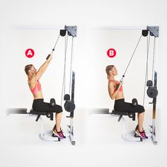2. Reverse Grip Pulldown http://www.womenshealthmag.com/fitness/triceps-workout/slide/2