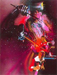 Star Trek II: The Wrath Of Khan unused poster art by Bob Peak