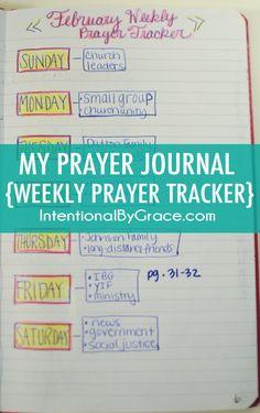 How I Set Up My Prayer Journal