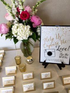 Escort Card Table #Wedding #ManchesterCountryClub