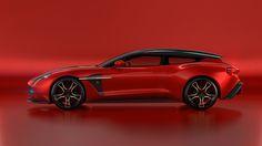 Aston Martin and Zagato fully reveal the Vanquish Shooting Brake.