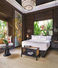 Mandapa, a Ritz-Carlton Reserve in Ubud promises a refined luxury in the heart of Bali and wows with sophisticated interior design and a beautiful location in a river enclosure among the lush tropical jungle. #ubudbalihotelluxury #ubudluxuryresort #ubudluxuryhotel #luxuryhotelsubud #ubudluxuryvillas #ubudbalihotelvillas #ubudbalihotel #ubudbalihotelboutiques #ubudbalihotelresorts #besthotelsinubudbali #besthotelsubudbali #poolvillaresort #bestluxuryhotelsbali #balihotelresortsvillas Luxury Hotels Bali, Ubud Bali Hotels, Best Of Bali, Bali House, Hotel Reviews, Lush, Tropical, River, Interior Design