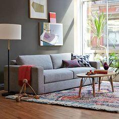 "West Elm  - 93.5"" Urban Sofa - Various Fabrics"