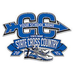 High School State Cross Country Customizable Design: Cricket School & Team- Custom Products for Students and Athletes