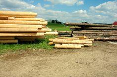 Drewniane bale do budowy domów Wood, Woodwind Instrument, Timber Wood, Trees