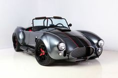 Backdraft Racing - Tungston with Black Stripes