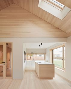 Wood Architecture, Residential Architecture, Pavilion Architecture, Organic Architecture, Tiny House Family, Modern Barn, House Plans, New Homes, House Ideas