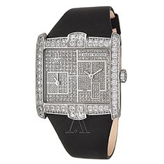 Harry Winston Women's Avenue Squared A2 Watch with Over 6 carats of diamonds!!!