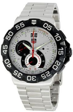 TAG Heuer Men's CAH1011BA0860 Formula One Silver Dial Watch