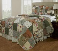 Be-You-Tiful Home Naomi Quilt Set, Queen Be-You-tiful Home http://www.amazon.com/dp/B00AXWS3S6/ref=cm_sw_r_pi_dp_PY53tb0M3S247STH