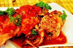 Anul Nou, Wok, Tandoori Chicken, Feta, Ethnic Recipes, Calamari, Greece