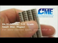small disc magnet from GME