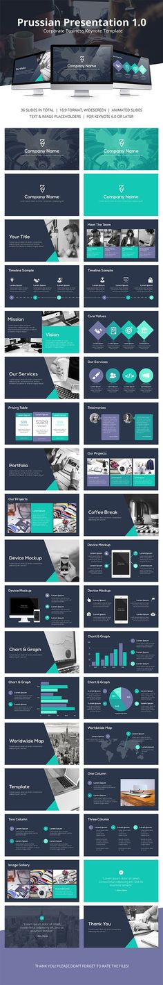 Prussian Business Keynote Template #design #slides Buy Now: http://graphicriver.net/item/prussian-business-keynote-template/12873065?ref=ksioks
