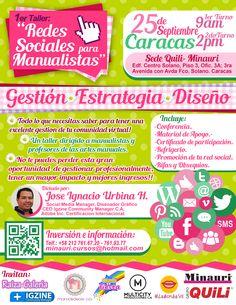Taller de Redes Sociales para Manualistas !! Más información: www.minauri.com