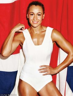 'I've wanted a figure like anyone else' Heptathlon world champion Jessica Ennis admits body insecurity during new shoot Jess Ennis, Jessica Ennis Hill, Jennifer Ennis, Heptathlon, Fit Women, Sexy Women, Celebrity Film, Athletic Women, Athletic Body