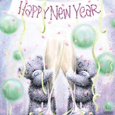 Happy New Year ~ Tatty Teddy Teddy Images, Teddy Bear Pictures, Cute Images, Tatty Teddy, Happy New Year 2014, Merry Christmas And Happy New Year, Christmas Wishes, Teddy Beer, Xmas Pictures