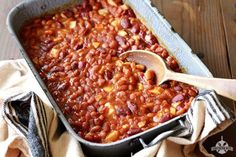 Kick your plain ol' canned baked beans up a notch or two with this easy recipe!
