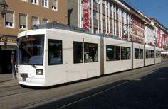 Würzburg Strassenbahn Trolley Tram