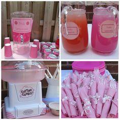 "Photo 1 of 'Pretty in Pink' / Birthday ""Pretty in Pink birthday"" Baby Girl 1st Birthday, Barbie Birthday, Pink Birthday, 1st Birthday Parties, Birthday Party Invitations, Birthday Party Decorations, Birthday Ideas, 15th Birthday, Birthday Board"