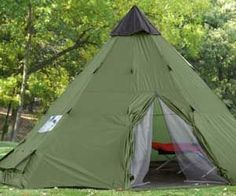 Teepee Tent. Very cool website as well. Lots of neat stuff!