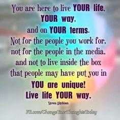 You are unique !