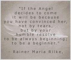 Rainer Maria Rilke Translated by Stephen Mitchell. Photo by Beinola