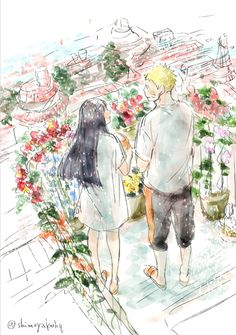 The scent those roses spreading in this garden is like yours, dear