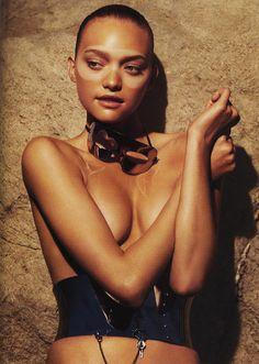 Gemma Ward by Mark Segal for Vogue Paris, June 2007.