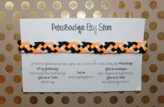NEW SALE Oklahoma State University Peach Black by petesboutique