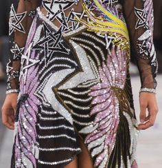 patternprints journal: PATTERNS, PRINTS, TEXTURES AND SURFACES INTO S/S 2017 FASHION COLLECTIONS / LONDON 10-Preen by Thornton Bregazzi