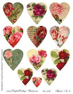 Heart printables.....