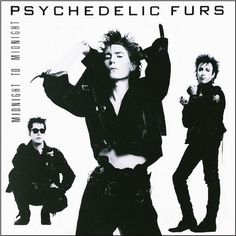 "Psychedelic Furs - Midnight To Midnight on Import LP + 7"" Vinyl"