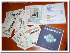 Free Printable: Pretentd Passport & Tickets from www.livinglifeintentionally.blogspot.com