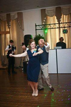 The Bride Parents Dancing