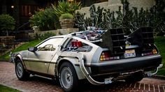 Back to the Future Delorean/ if we had the money I know my husband would have this car