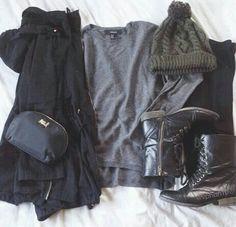 #Black #Winter #boots