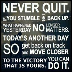 Ovarian Cancer Awareness ~ Never Quit ... # Fight Like a Girl Club