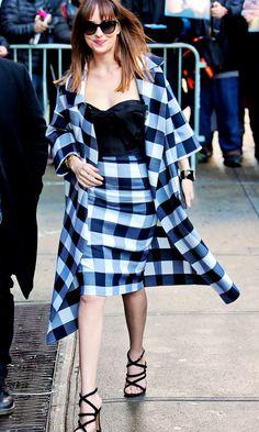 Dakota Johnson – David Letterman, February, 17 | Jamie Dornan News