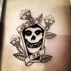 The Misfits Tattoo Design