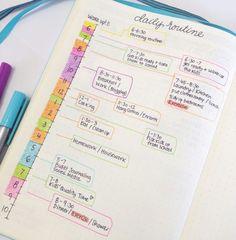 Organização da vida | Agenda de tarefas diárias