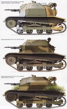 Polish TSK Tankette. Poland Ww2, Invasion Of Poland, Army Vehicles, Armored Vehicles, Military Camouflage, Military Art, Camouflage Colors, Tank Armor, Engin