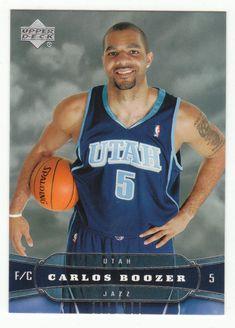 Carlos Boozer # 192 - 2004-05 Upper Deck Basketball