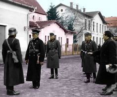 Miklos Horthy with the troops Ukraine, Royal Blood, Defence Force, European History, Panzer, Eastern Europe, World War Two, Troops, Wwii