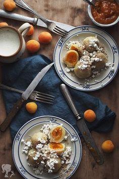 Marhuľové guľky s tvarohom - Recept od babičky - Lenivá Kuchárka Baked Goods, Acai Bowl, Ale, Sweet Tooth, Recipies, Yummy Food, Baking, Breakfast, Pastries
